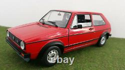 Volkswagen Golf 1 Gti 1976 Red 1/18 Vitesse V18202 Collectio Miniature Car