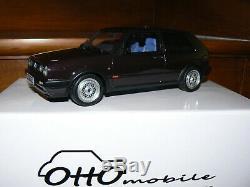 Volkswagen Golf 2 Gti G60 One Edition 1/18 1 18 118 Otto Ottomobile Ottomodels