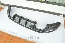 Volkswagen Golf 7 Gti Carbon Fiber Rear Broadcast Diffuser Aero Tuning