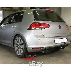 Volkswagen Golf 7 Hitch Including Gtd, Gti And R-line (10 / 12-) Rdsov + Rake