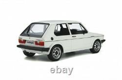 Volkswagen Golf Gti Oettinger 1982 White Ottomobile 1/12 Preorder August 2021