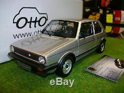 Volkswagen Golf Gti Rabbit Silver 1/18 Ottomobile Ot563 Miniature Car