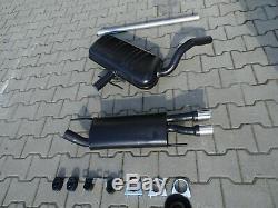 Volkswagen Golf III Gti 16v 2.8 3 2.0 Vr6 Exhaust Muffler 5558
