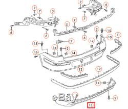 Volkswagen Golf Mk4 Gti Rear Bumper Spoiler Ring 1j6807521cb41 Nine