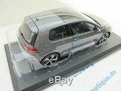 Volkswagen Vw Golf 7 Gti Norev In 118 188 518 New Metallic Gray