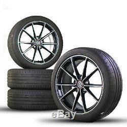 Vw 18 Inch Golf 7 6 Gti R Rims Belvedere Alu Tires Summer Tires Summer
