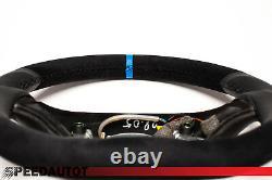 Vw Golf 4 Bora Passat 3b Gti Blue Ring Leather Flying Flatten