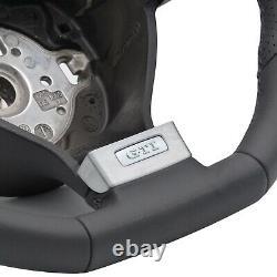 Vw Golf 5 V Gti R32 Original Flying Sport Flat Leather Perforated Leather Black Nine