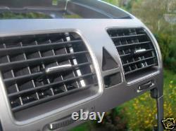 Vw Golf 5 V Jetta Tableau Defard D'air Aluminium Decor Alu Decor R-line Gt R32 Gti