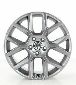 Vw Golf 6 Gti 5k Edition Wheels 18 Inch Wheels Watkins Glen Gray 5k0601025ag