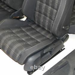 Vw Golf 6 VI Gti Gtd 3-t-rig Sport Session Modules Of Sport Fabric Seats