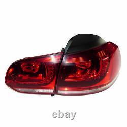 Vw Golf 6 VI Gti Gtd Original Led Rear Lights Rear Light Kit
