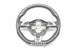 Vw Golf 6 Vw Polo Gti Gti 6r Steering Tiptronic Leather Black Red 5k0419091ae