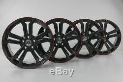 Vw Golf 7 Gtd Gti Alloy Wheels 18'inch Seville Game Graphite