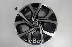 Vw Golf 7 Gtd Gti Rim Set Brescia Wheels 19 Inch Alloy Wheel