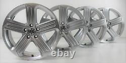 Vw Golf 7 Gti Gtd & R Alloy Wheels Cadiz Silver 18 Inch 5g0601025bk