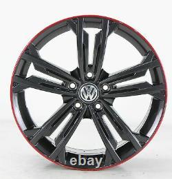 Vw Golf 7 Gti Gtd & R Alloy Wheels Sevilla Grey Wheels 18 Inch