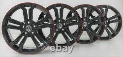 Vw Golf 7 Gti Gtd - R Steel Alloy Wheels 18 Inches 5g0601025dr