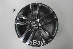 Vw Golf 7 R-line Gtd Gti 18 Inches Salvador 5g0601025af Wheels, Alloy Wheels