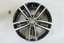 Vw Golf Gti 7 R-line Alloy Gtd Seville 18 Inch Rim Einzelfelge 5g0601025cm