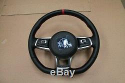 Vw Golf Gti 7 Tcr 12 Watch Marking Steering Wheel Multifunction Full Dsg