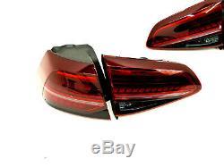 Vw Golf Gti R Facelift 7 Bq1 Dynamic Led Tail