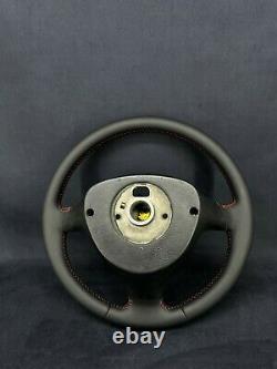 Vw Golf IV Bora Mk4 4 Passat B5 Direction Wheel Nappa Leather Gti Sport