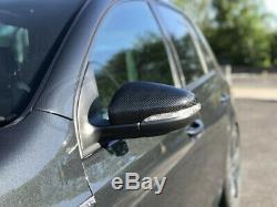 Vw Golf Mk6 Carbon Fiber Case Replacement Mirror Gti R 2009-2012