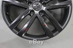 Vw Golf R-line 7 Gtd Gti 18 Inch Alloy Wheels Rims Salvador 5g0601025af