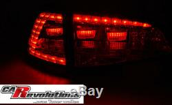 Vw Golf VII 7 Dynamic Led Lights In Red Gti R Clubsport Look Sequenziell