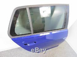 Vw Golf VII 7 Gti Gtd R 4-türer Door Rear Right Included Window Blue Ld5k