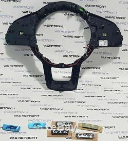 Vw Gti Gtd R Steering Wheel Cover Original Leather Multifunction Steering Wheel