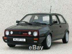 Vw Volkswagen Golf Gti G60 1990 118 Black Norev