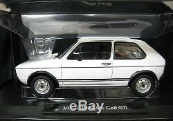 Vw Volkswagen Golf I Phase 1 Gti 1977 White Norev 188484 1/18 White Bianca