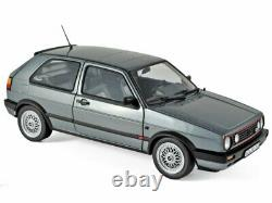 Vw Volkswagen Golf II Gti 1990 Greymetallic Norev 118