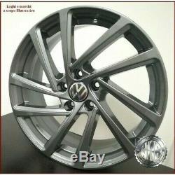 Wonder Gal 4 Alloy Wheels Nad Et45 18 X 5 6 7 Volkswagen Golf Gti Gtd R