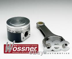 Wossner Forged Pistons + Pec Rod Kit For Volkswagen Golf Mk5 Gti Ed30 2.0tfsi