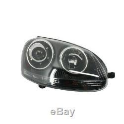 Xenon Look Headlights Rhd Volkswagen Golf V (2003-2007) Gti R32 Black Edition Kitt H