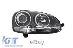 Xenon Look Headlights Volkswagen Golf V 2003-2007 Gti R32 Design Chrome Edition