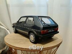 1/12 Volkswagen Golf GTI 1800 Plus Mk1 1983 Blue G049 OTTOMOBILE Otto