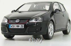 1/18 Norev Volkswagen Golf GTI Noire 2004 Neuf En Boîte Livraison Domicile