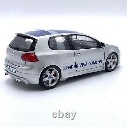 1/18 Norev Volkswagen Golf V GTI Zender Grey Blue 2005 Livraison Domicile