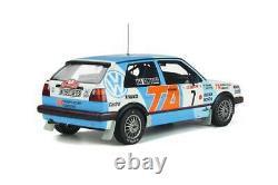1/18 Ottomobile Volkswagen Golf MK2 GTI 16V Gr. A N°7 RMC 1987 Livraison Domicil