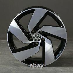 18 Pouces VW Golf 8 VIII Gti GTD Jantes en Alliage Richmond 5H0601025H Jantes