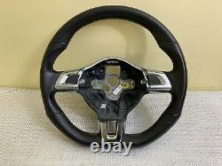 1K0419091G YCQ Volant Méplat Vw Scirocco Golf 6 GTI Gtd Cuir perforé 5K0419685C