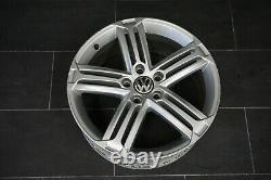 1x Original Jante VW Golf 5 6 Gti R18 Pouces Talladega 7,5Jx18 ET51 5K0601025H