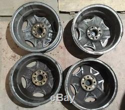 4 Bbs VW Golf 2 Feu And & Glace Gti Jantes 6x15 4x100 Et35 191601025Q Estoril