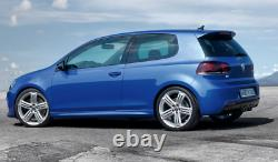 4Jantes ORIGINAL Volkswagen Golf R GTI RLINE 19 pouces 5k0601025m VW SILVER