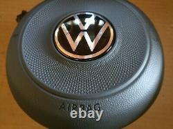 AIRBAG VOLANT VW GOLF MK7 VII 7 R-LINE GTI GTD Nouveau logo VW 2021