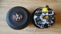 AIRBAG VOLANT VW GOLF MK7 VII 7 R-LINE GTI GTD très bonne condition ORIGINAL